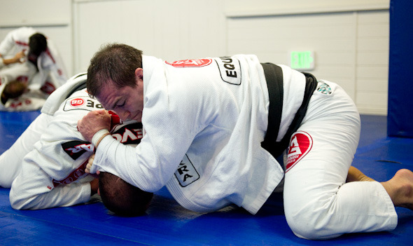 At GB Irvine, Professor Alberto does what he likes the most: to train. (Photo by Luca Atalla)