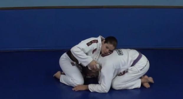 learn the lapel choke that won the world judo championship