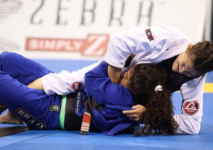 Ana Laura during the Medium Heavyweight final of World Cup 2014 (IBJJF).