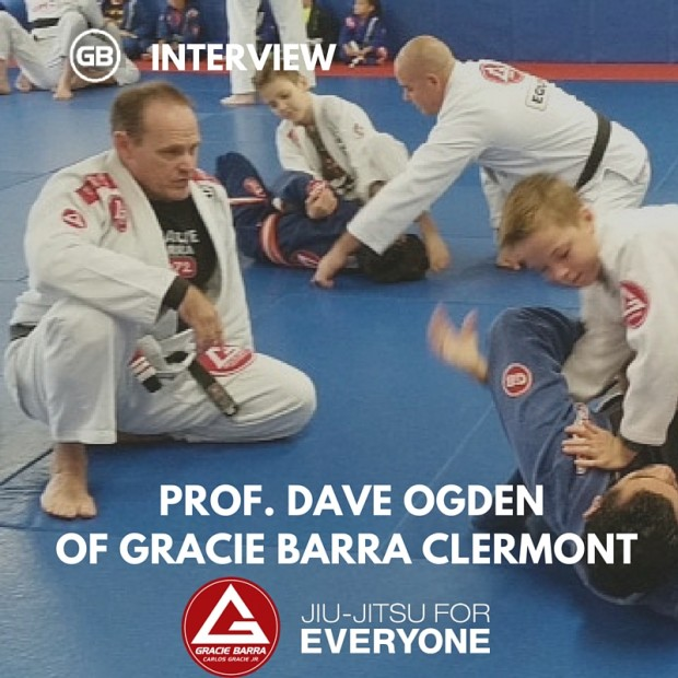 GB Gracie Barra Clermont-2のDave Ogden教授へのインタビュー